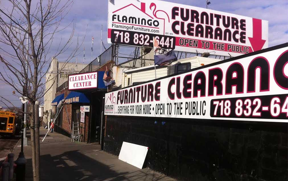 Flamingo Furniture Clearance Center In Brooklyn Ny